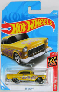 Hot Wheels 1/64 '55 Chevy Diecast Car