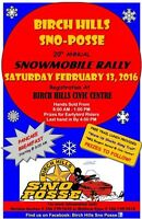 Birch hills snowmobile rally feb13 8am