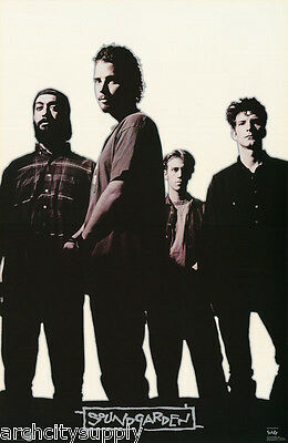 POSTER : MUSIC :  SOUNDGARDEN - STANDING - 1996 -  FREE SHIPPING ! #7217 LW22 L