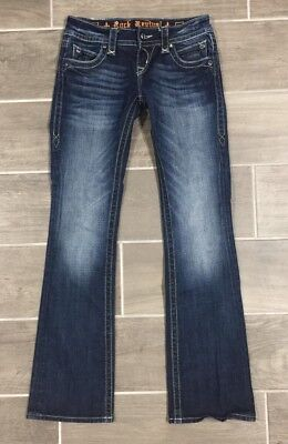 Evelyn Rocks - Rock Revival Evelyn Jeans Size 26 Dark Wash