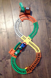 Fisher Price Around the Track with Thomas Playset, Like New