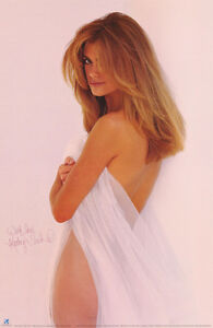 POSTER : KATHY IRELAND -  FEMALE MODEL  -   FREE SHIPPING !! #1378  RC17 J