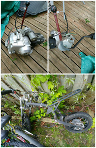 125cc dirtbike frame 110 cc atv motor