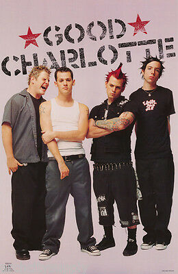 POSTER : MUSIC : GOOD CHARLOTTE - GROUP  POSE - FREE SHIPPING !  #6558    RC31 L