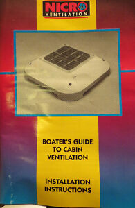 Ventilation New Part for Boat  Price REDUCED London Ontario image 4