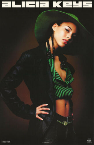 POSTER : MUSIC : ALICIA KEYS   -  FREE SHIPPING !    #9058      LC1 H