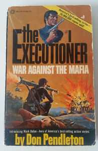 Vinatage Book: The Executioner #1 War Against the Mafia