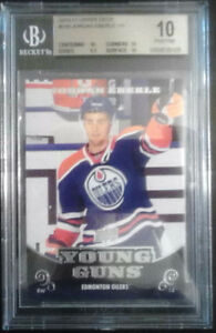 10/11 UPPER DECK JORDAN EBERLE RC YOUNG GUNS BGS 10 $120
