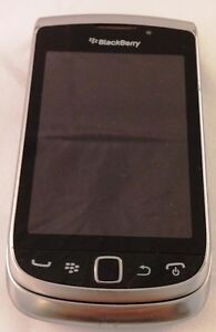 BlackBerry Torch 9810 Silver Rogers/CHATTER Smartphone Qwerty Kitchener / Waterloo Kitchener Area image 2