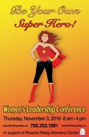 Be Your Own Super Hero! Womens Leadership Conference!