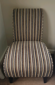 Next chair, gorgeous striped chair, lovely colours.