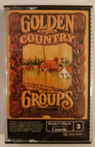 Reader's Digest Golden Country Groups, Tape 3 - Audio Cassette T