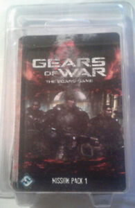 MISSION PACK 1 : Gears of War Board Game Expansion (Rare, New)