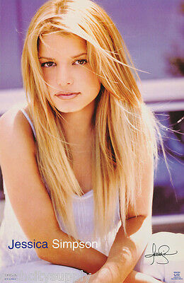 Posters Jessica Simpson - POSTER: ACTRESS / SINGER : JESSICA SIMPSON - FREE SHIPPING     #9034  RP90 U