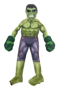 New Halloween Hulk Costume for Boys With Talking Gloves
