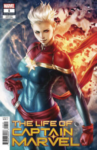 The Life of Captain Marvel #1 1st Print..Artgerm Willing to Ship