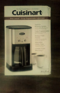 *QUICK SALE* NEVER USED COFFEE MAKER-Cuisinart Coffee Brewer