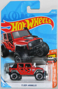 Hot Wheels 1/64 '17 Jeep Wrangler Diecast Car