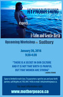 Upcoming HypnoBirthing Workshop on January 30th, 2016