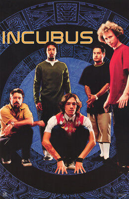 POSTER : MUSIC : INCUBUS - ALL 5 POSED  - FREE SHIPPING !  #9074    RC33 Y
