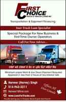 FINANCING ALL TRUCKS, TRAILERS AND HEAVY EQUIPMENT!!!!