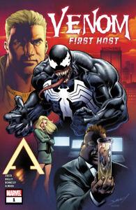 VENOM FIRST HOST #1-5 1st print set Marvel comics