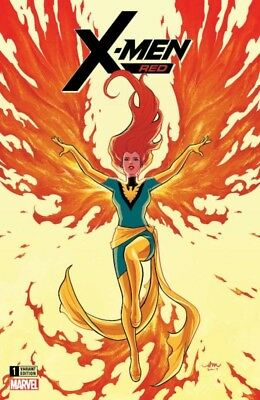 X-MEN RED 1 AUDREY MOK COMICXPOSURE EXCLUSIVE VARIANT NM PRE-SALE 2/7