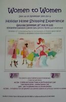Women to Women Holiday Home Shopping Experience