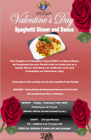 Valentine's Day Spaghetti Dinner & Dance