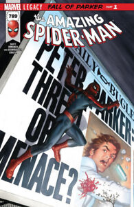 Marvel The Amazing Spider-Man # 789 Legacy Fall of Parker Part 1