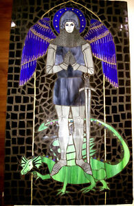 Canadian Handmade Art Collectible: Archangel & The Dragon