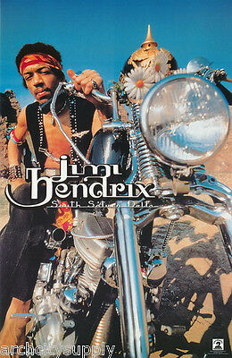 POSTER : MUSIC: JIMI HENDRIX - SOUTH SATURN  DELTA -  FREE SHIP #5295  RP72 E