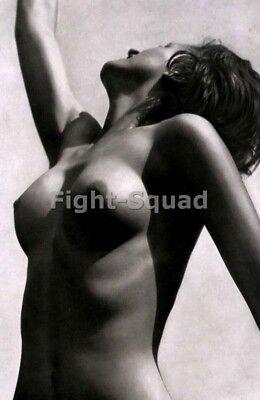 WW2 Picture Photo Deutscher Mädel League of German Girls on nude the Beach  2914
