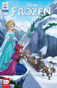 "ISSUE ONE-""Disney Comics FROZEN"" Comic Book"