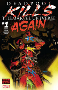 Deadpool Kills The Marvel Universe (Complete Issues 1-5) $25
