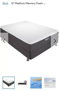 "Brand new 12"" Queen cool gel mattress in box!"