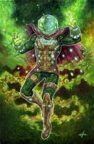 Mysterio - Acrylic Painting - Marco Russo Art - Marvel - ENG