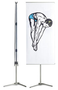 Expolinc Pole System Banner Stand