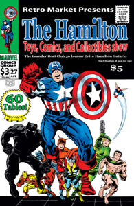 The Hamilton Toys, Comics & Collectables Show - 04/27