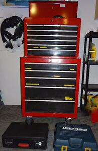 Tool Chest & Top Tool Chest with all tools.