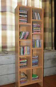 CD / DVD / Video / Book Shelf
