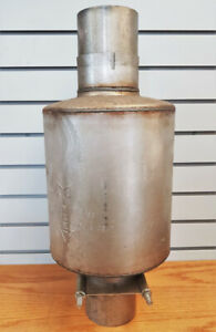 NEW Old Stock Muffler – Heavy Duty Universal 4 Inch Inlet/Outlet