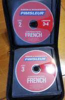 Simon & Schuster's Pimsleur Conversational French lessons