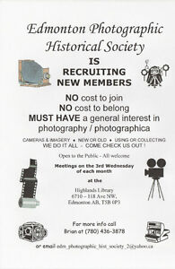 Camera / Photography Club… FREE …all welcome