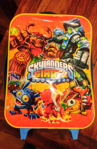 Skylanders Giants childs rolling suitcase