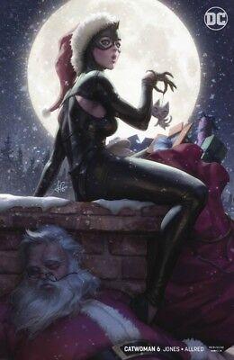 Catwoman Hat (CATWOMAN #6 VARIANT STANLEY ARTGERM LAU SANTA HAT CHRISTMAS JOELLE JONES)