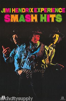 POSTER : MUSIC : JIMI HENDRIX - SMASH HITS    FREE SHIPPING !   #3587    LC30 H