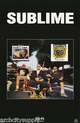 POSTER : MUSIC : SUBLIME - SKUNK RECORDS    -  FREE SHIPPING     #3456    LW26 M
