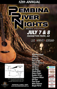 2 tickets to Pembina River Nights
