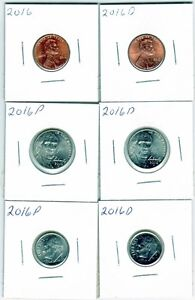 United States 2016 coins